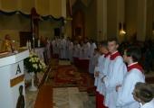 Ślubowanie nowych Ministrantów