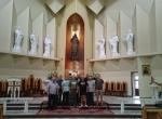 Po montażu kolejnych figur Apostołów